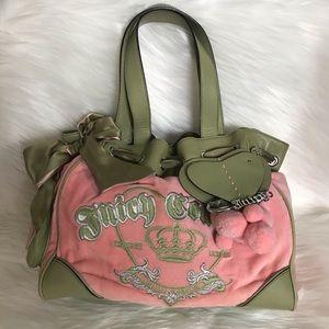 Juicy Couture Large  Velour Shoulder Bag
